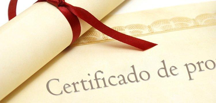 Certificados de profesionalidad