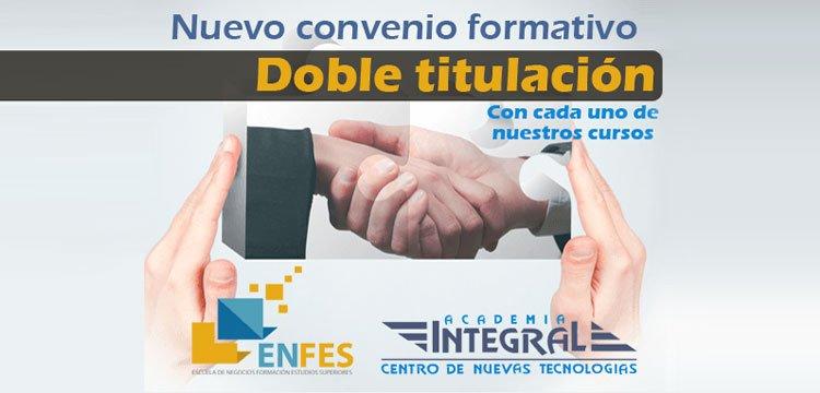 Convenio Educativo entre ENFES y Academia Integral